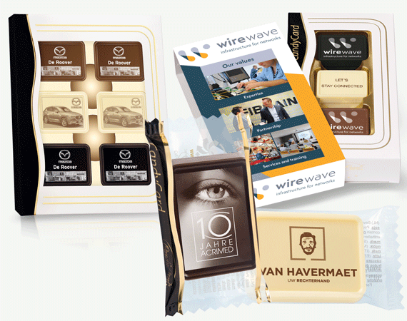 Chocolade Businesscards