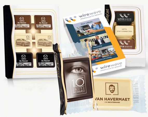 Chocolade Businesscards